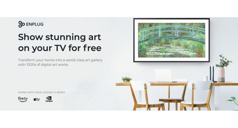 Apple TV now with free access to art with Engplug Art