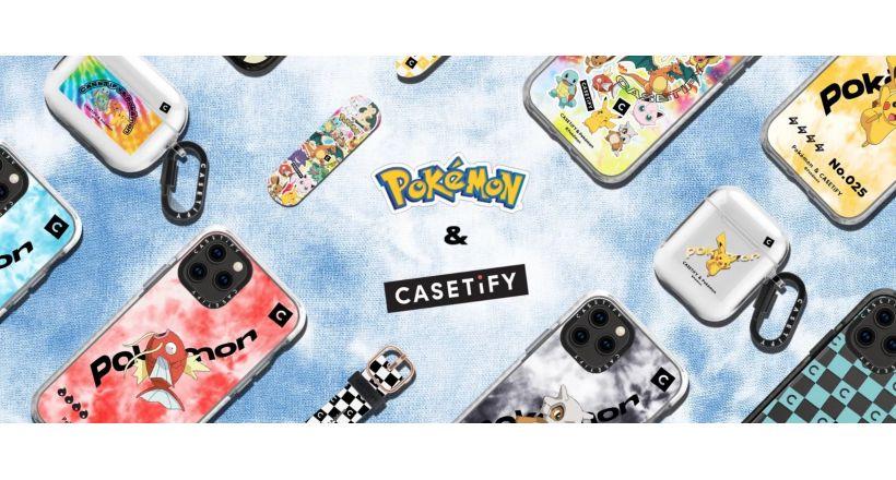 Nuova linea di custodie Pokémon CASETiFY