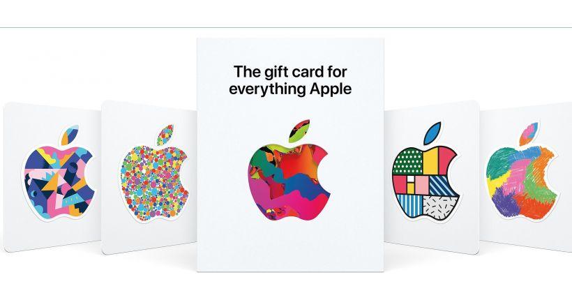 """Apple lance une nouvelle Carte-Cadeau pour """"Tout Apple"""""""