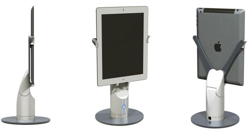 Kubi de revolve robotics apunta tu ipad alrededor de la for Alrededor de tu mesa