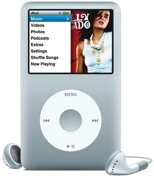 Porno para iPods y mp3s