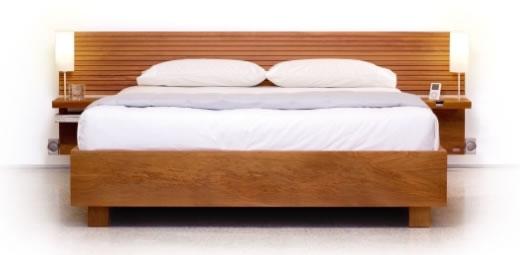 Respaldo para cama con dock para ipod ipodtotal - Respaldo para cama ...