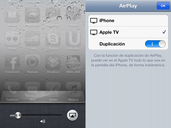 Duplicación Airplay